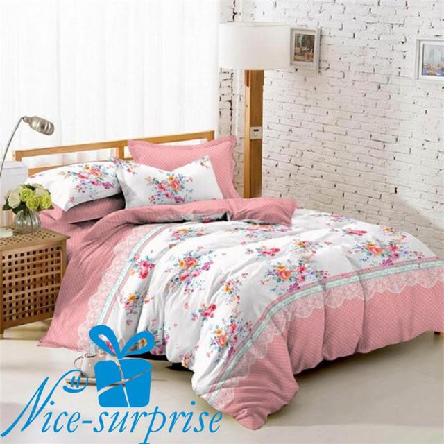 купить двойное постельное белье из поплина в Харькове