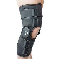 Ортез коленного сустава, неопреновый, шарнирный, с регулированным углом сгиба Алком 4032