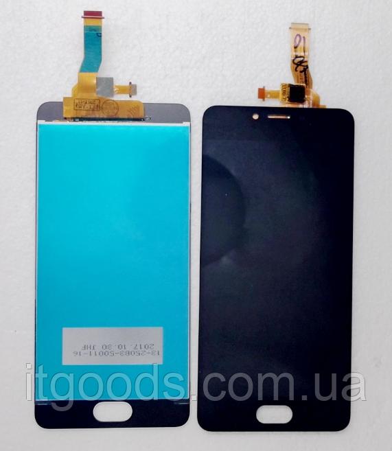 Оригинальный дисплей (модуль) + тачскрин (сенсор) для Meizu M5c | L710h (черный цвет)