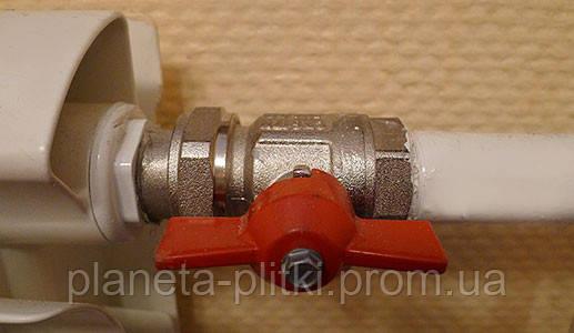 Стальные трубы и запорная арматура — неотъемлемая часть радиаторов