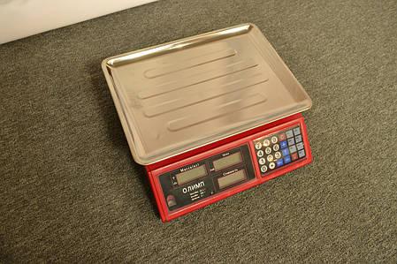 Весы торговые Олимп ACS-769 (40 кг), фото 2