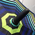 Женский зонт - трость большой купол Полоска Star Rain, фото 2