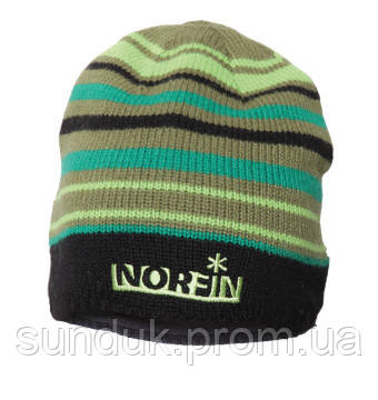 Шапка Norfin Frost (зеленая в полоску)