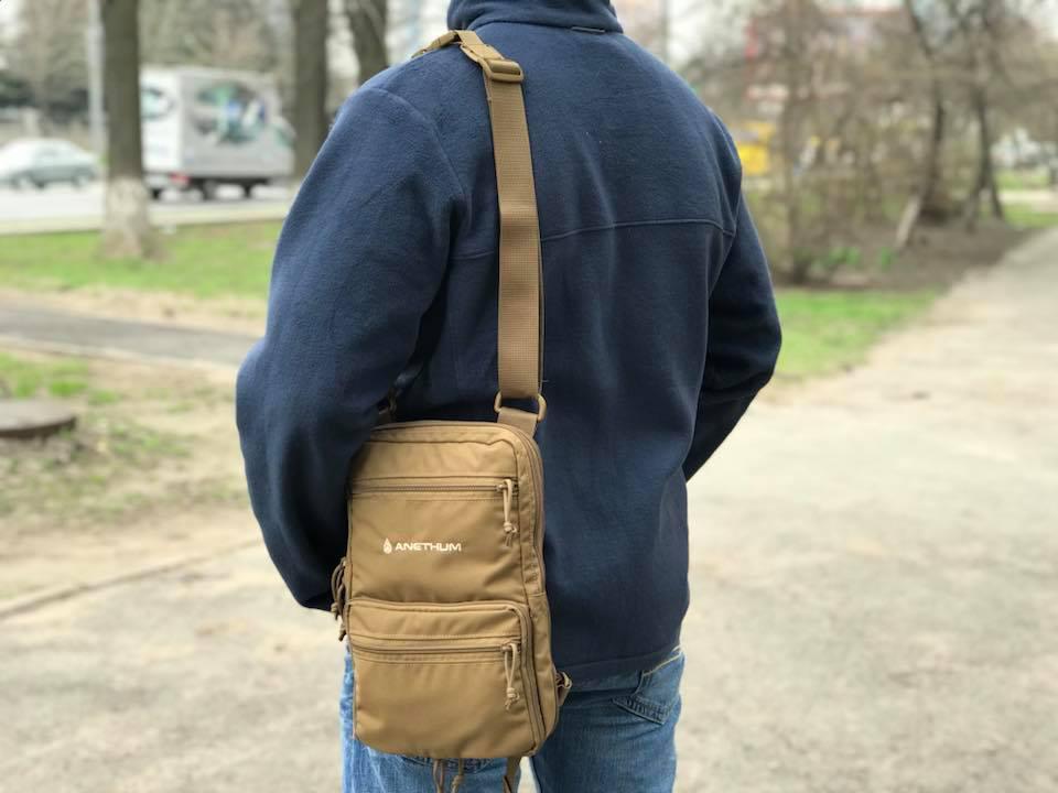 Сумка - рюкзак Anethum Jazz (койот)