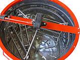 Медогонка 3-х рамочная нержавейка КС с поворотными кассетами, фото 2