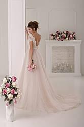 Свадебное платье воздушное