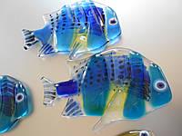 Рыба  декор для зеркал,шкафа-купе.фьюзинг