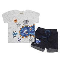 Костюм для мальчика  86-104(1-4 года)арт.4050 футболка+шорты