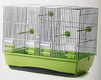 Клетка для попугаев и птиц Inter Zoo Messi Zinc (54*38,5*47)