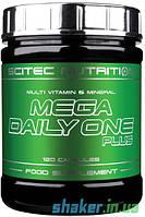 Витамины Scitec Nutrition Mega Daily One Plus (120 капс) скайтек мегай дейли ван плюс