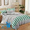 Семейное постельное белье из поплина МАРБЕЛЬЯ (2 пододеяльника)