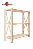 Стеллаж деревянный Прованс-3 Элегант (ФСФ берёза, 827х780х300мм)