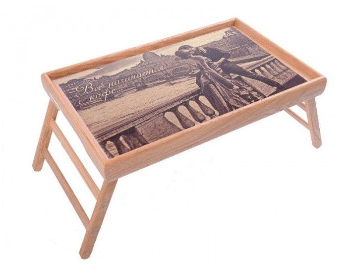 Прикроватный столик на ножках Романтика