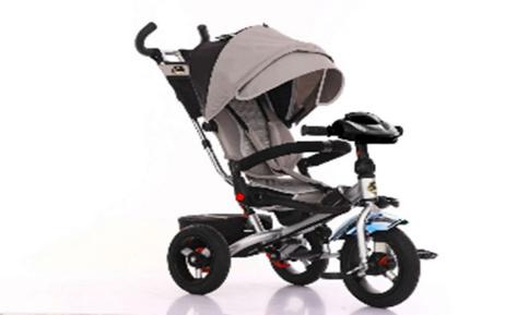 Трехколесный велосипед Trike с поворотным сиденьем и складной рамой TR