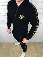 Спортивный костюм Adidas D3131 черный, фото 1