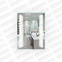 Зеркало влагостойкое для ванной комнаты с LED подсветкой модель Prime
