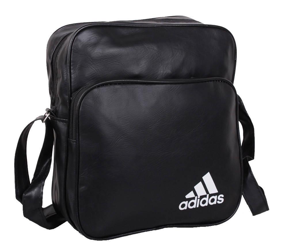 Черная спортивная сумка для мужчин