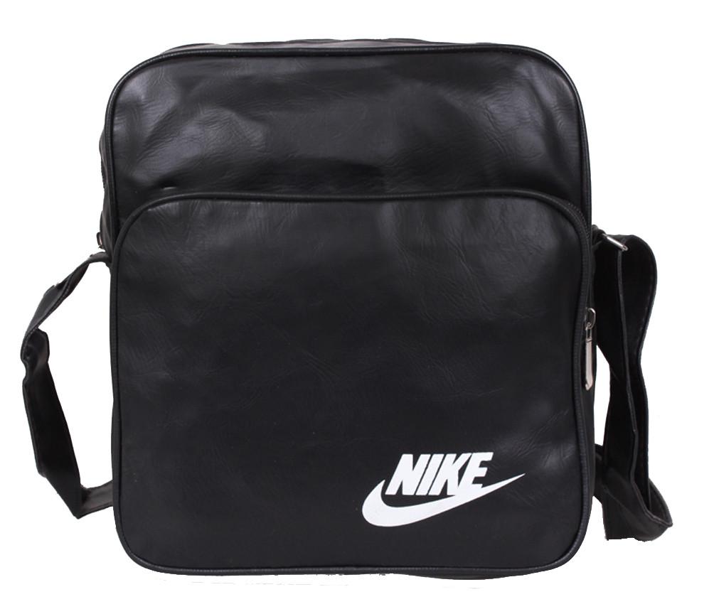 Спортивна сумка зі штучної шкіри sport303585 чорна