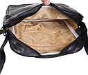 Спортивна сумка зі штучної шкіри sport303585 чорна, фото 4