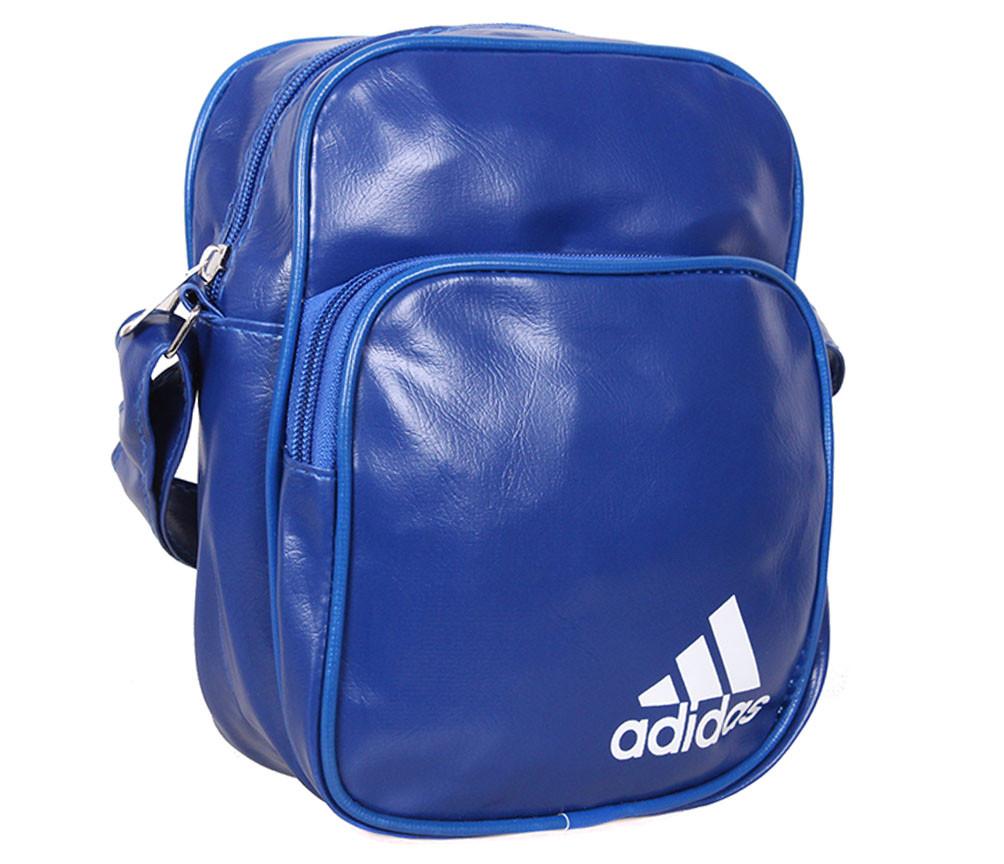 Спортивная сумка из искусственной кожи sport303598 синяя