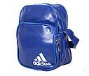 Спортивная сумка из искусственной кожи sport303598 синяя, фото 2