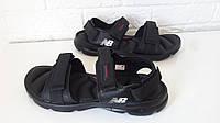 Мужские босоножки, сандалии New Balance, черные