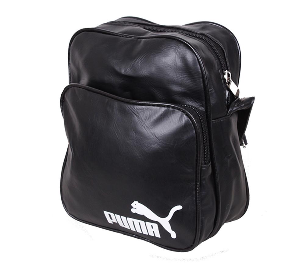 Молодежная сумка черного цвета
