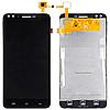 Оригинальный дисплей (модуль) + тачскрин (сенсор) для Prestigio MultiPhone Muze C3 PSP3504 Duo (черный цвет)