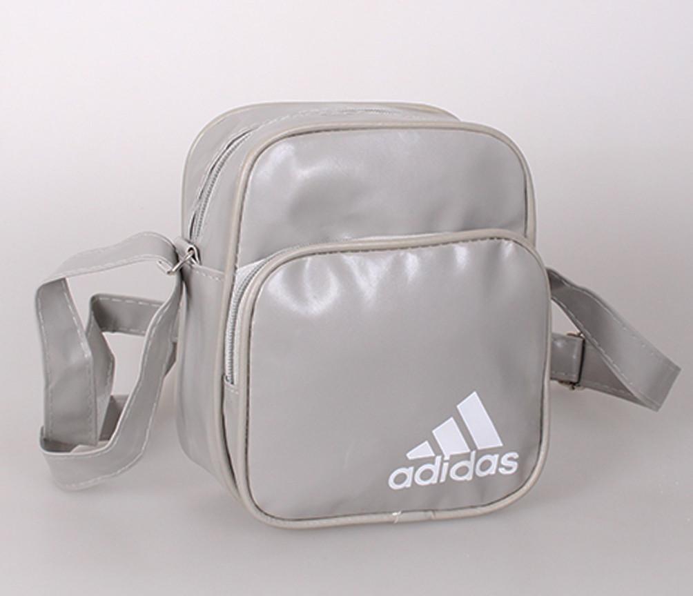 Спортивная сумка из искусственной кожи sport303647 серая