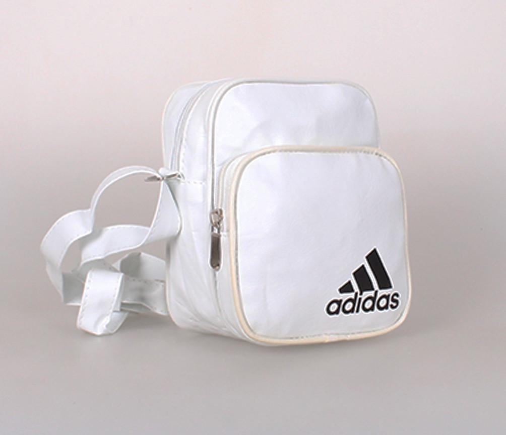 Мужская сумка белого цвета