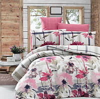 Комплект постельного белья LIGHT HOUSE Vanesa бязь голд 200х220 фуксия