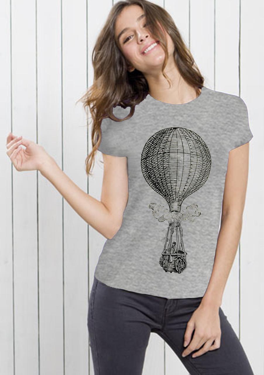 Футболки женские,воздушный шар