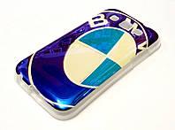 Чехол силиконовый с рисунком BMW эмблема для Samsung Galaxy Win i8550 / i8552