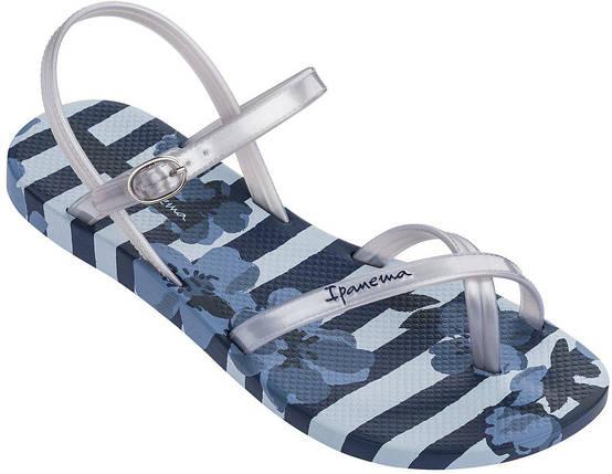 Оригинал Сандалии Женские 82291-21345 Ipanema Fashion Sand V Blue/Silver, фото 2
