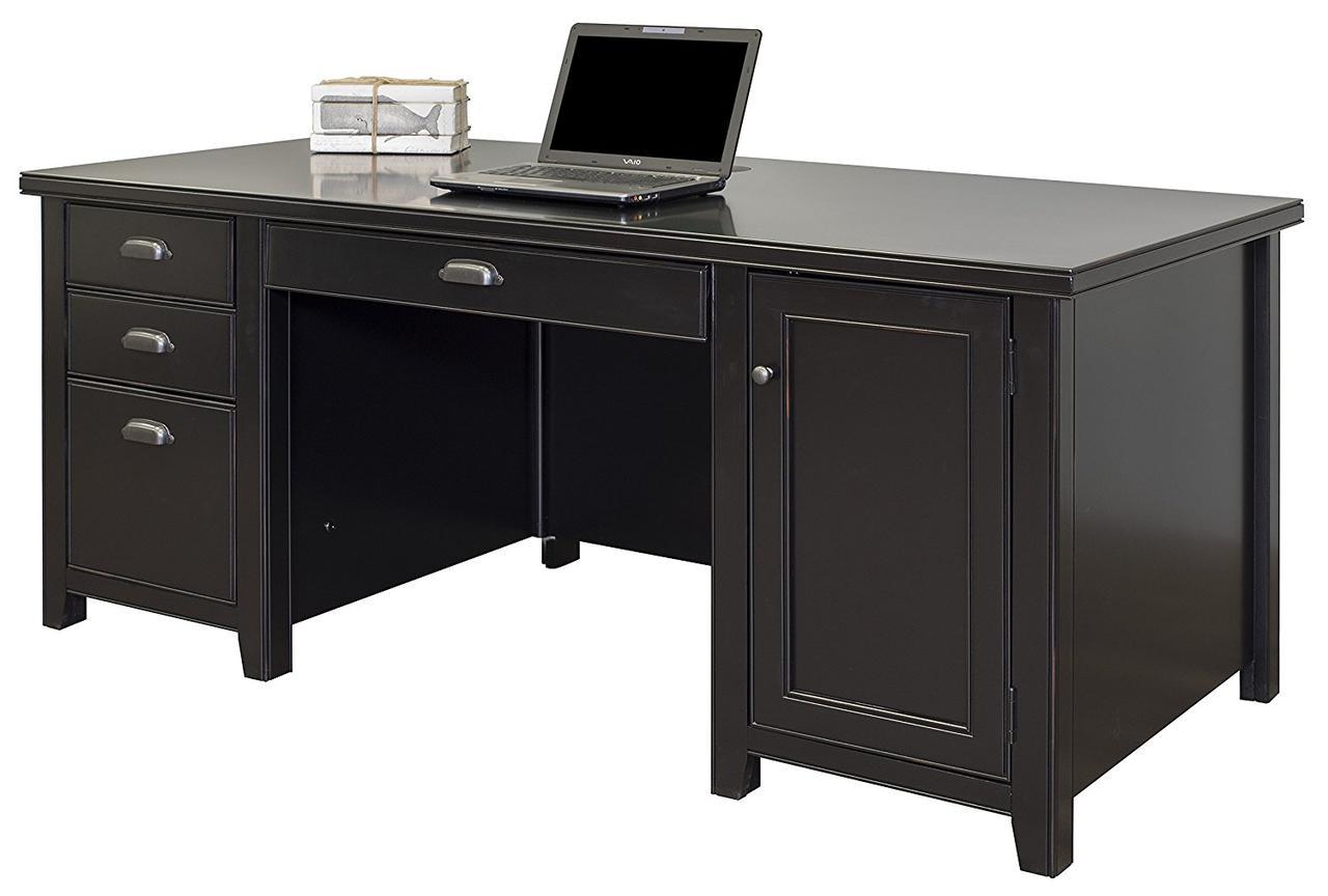"""Офисный стол """"Ромео"""" из массива дуба"""