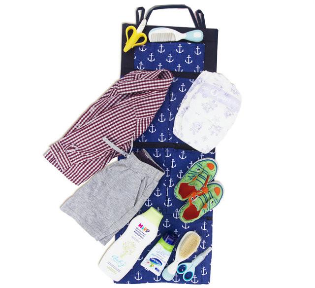 Подвесной органайзер для шкафчика в детский сад якоря