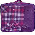 Дорожные сумки-органайзеры в чемодан ORGANIZE фиолетовые 5 шт, фото 8