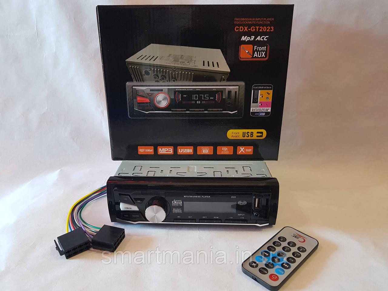 Авто Автомагнитола MP3, CDX-GT2023 (USB, SDHC, AUX, FM)
