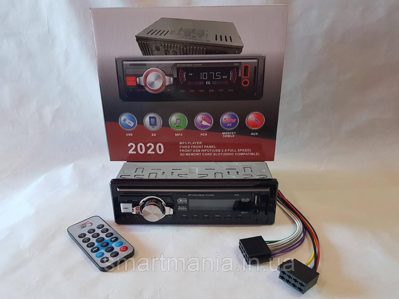 Автомагнитола Pioneer 2020 - MP3+FM+USB+SD+AUX!