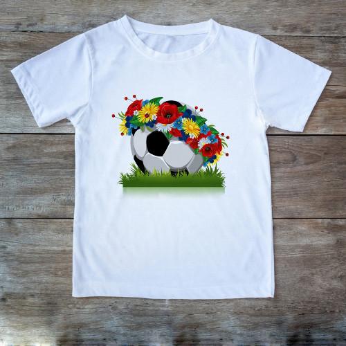 Футболка Мяч с венком