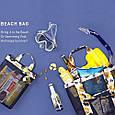 Летняя сумочка для пляжа прорезиненная, фото 2