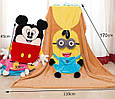 "Одеяло - подушка, игрушка ""Микки"" большое, фото 2"