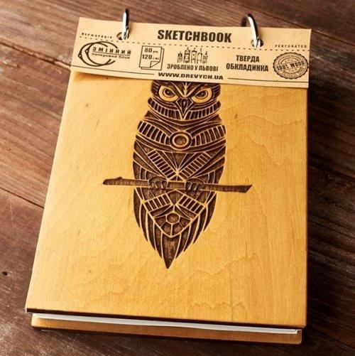 """Скетчбук """"Owl"""" А6"""