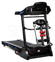Электрическая беговая дорожка FunFit B11 + массажер для дома (електрична бігова доріжка з масажером для дому)