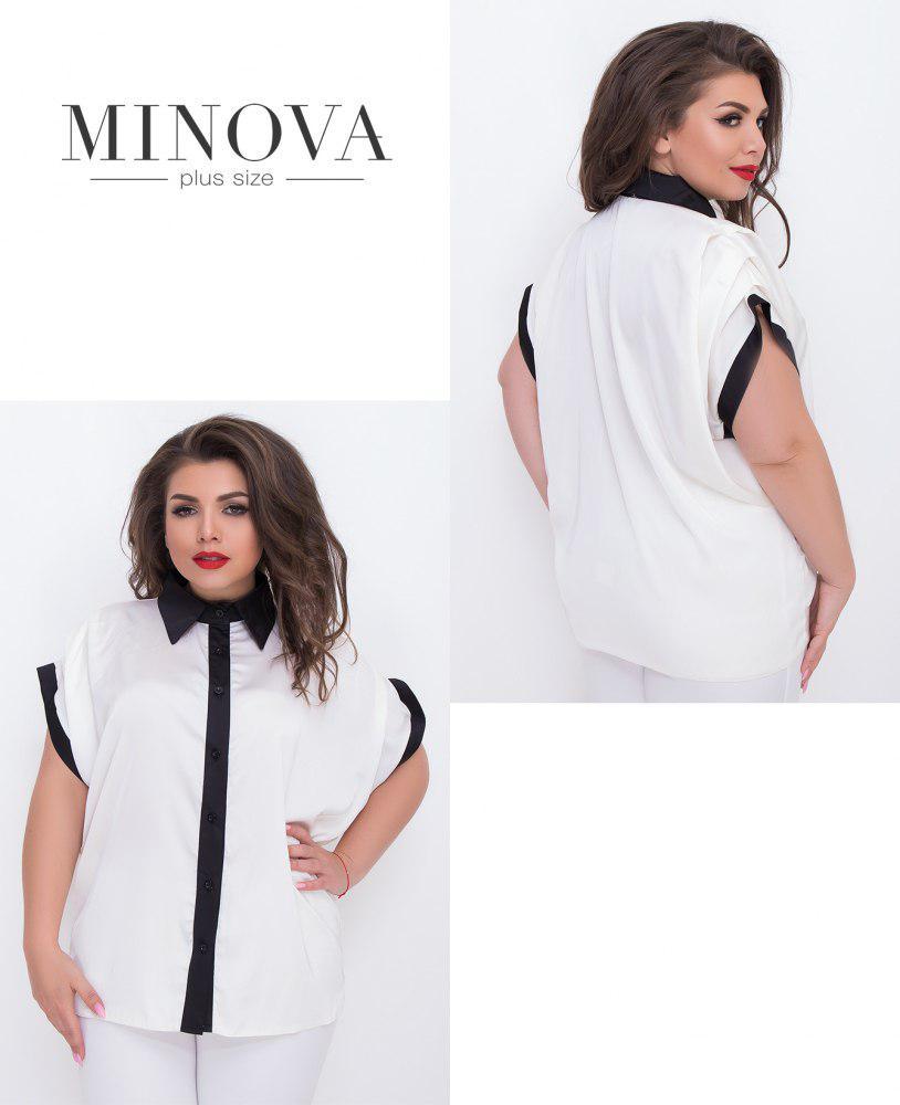 62c0acaa1fa2 Шелковая блуза-оверсайз на пуговицах недорого в интернет-магазине Прямого  ...