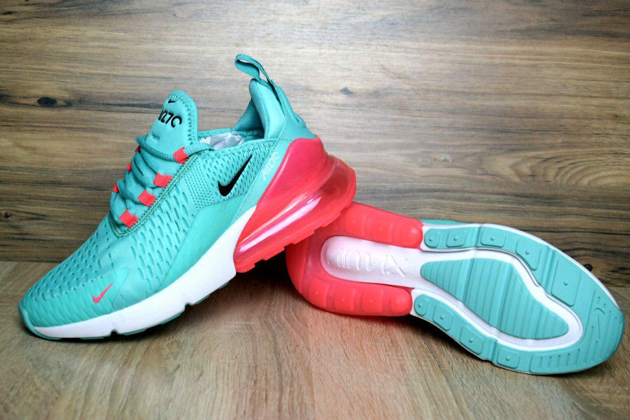 9c3dbf2f Кроссовки Женские NIKE AIR MAX 270 FLYKNIT Green/Pink - BBZ Shoes & Wear в