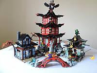 Конструктор Bela 10427 Ninja Ниндзя Ninjago Ниндзяго Храм Аэроджитцу 2031 детали, фото 1