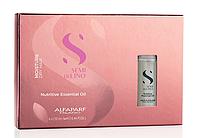 Питательное масло для волос Alfaparf Milano Semi Di Lino Nutritive Essential Oil 6х13 ml