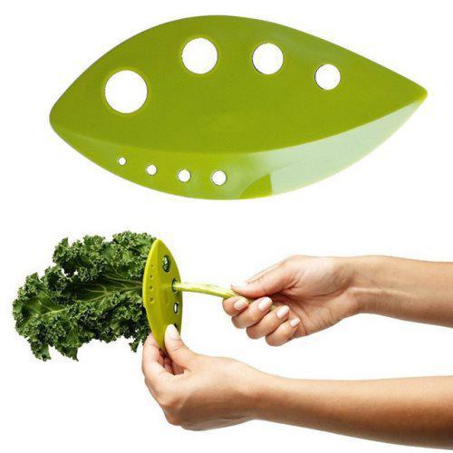 Нож для зачистки зелени, кале, мангольд