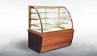 Кондитерская витрина Дакота 1,5 ВХК(Д) МДФ Технохолод (холодильная)